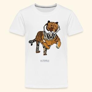 The Tiger - Teenage Premium T-Shirt