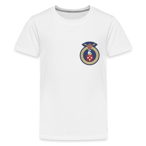 13 Eastleigh Badge White - Teenage Premium T-Shirt