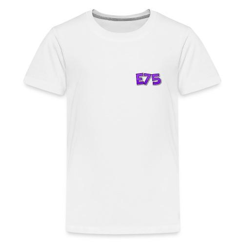 Ethan75HD - E75 Logo - Teenage Premium T-Shirt