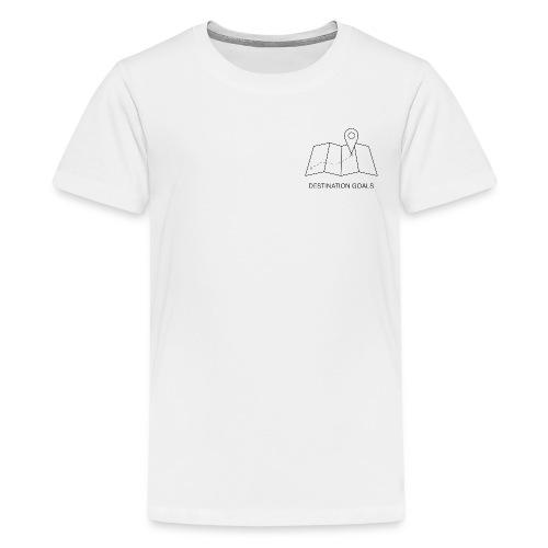 DESTINATOIN GOALS - Teenager Premium T-Shirt