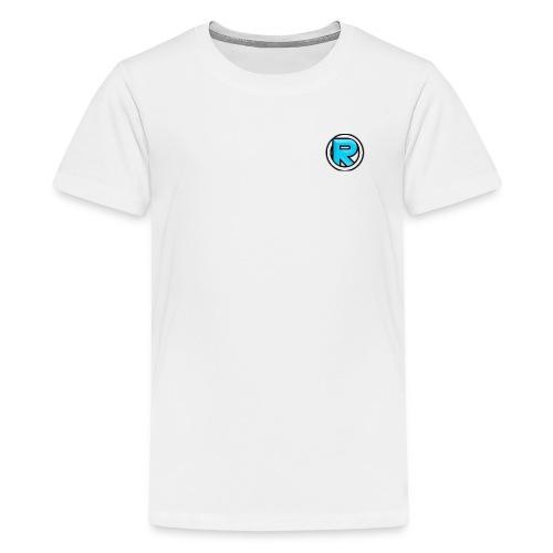 ROGZII Logo Themed Merch! - Teenage Premium T-Shirt