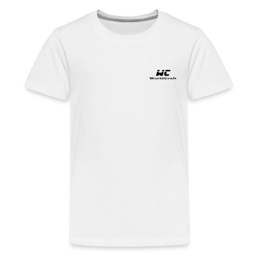 WorldCraftNoir - T-shirt Premium Ado