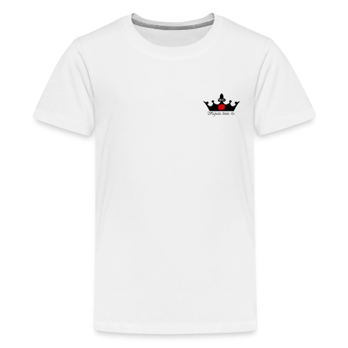 Majestic Skate Co logo small - Teenage Premium T-Shirt