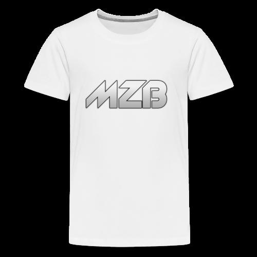 MZB Logo Design For Merch - Teenage Premium T-Shirt