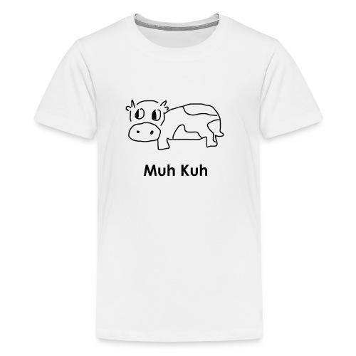 Kuh - Teenager Premium T-Shirt