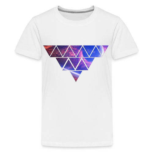 Abstract_Black_Design - Teenager Premium T-Shirt