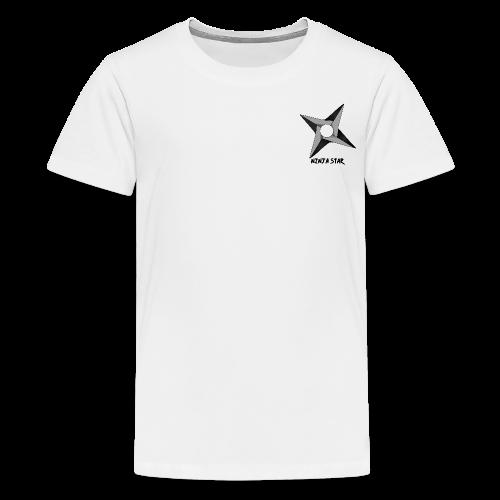 The Ninja Star - Teenage Premium T-Shirt