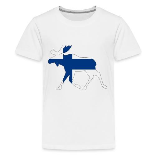 Finnland Elch - Teenager Premium T-Shirt
