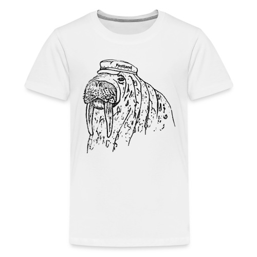 festland walrus - Teenager Premium T-Shirt