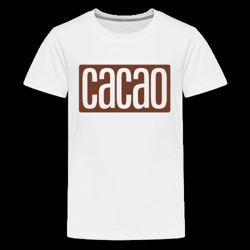 cacao - Teenager Premium T-Shirt