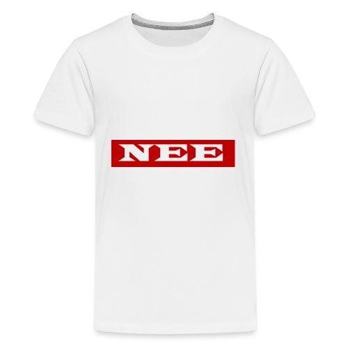 nee - Teenager Premium T-Shirt