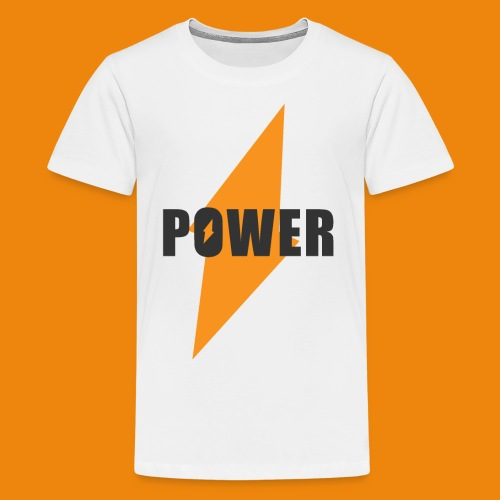 POWER - Teenager Premium T-Shirt
