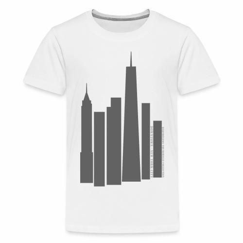 Downtown NYC - T-shirt Premium Ado