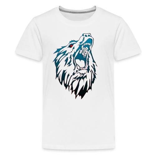 Eyezbear Logo freigestellt groß - Teenager Premium T-Shirt