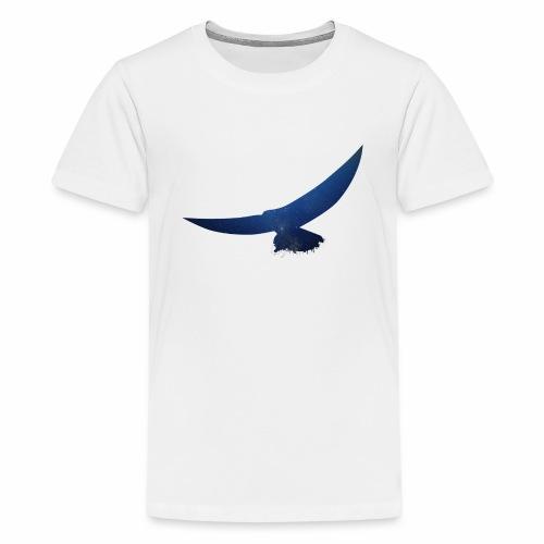 Abstrakter Adler - Teenager Premium T-Shirt