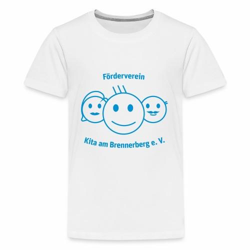 Logo Förderverein - Teenager Premium T-Shirt