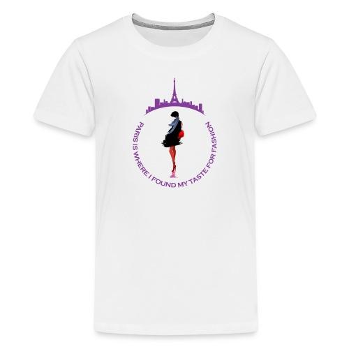 Paris Fashion Design 2 - T-shirt Premium Ado