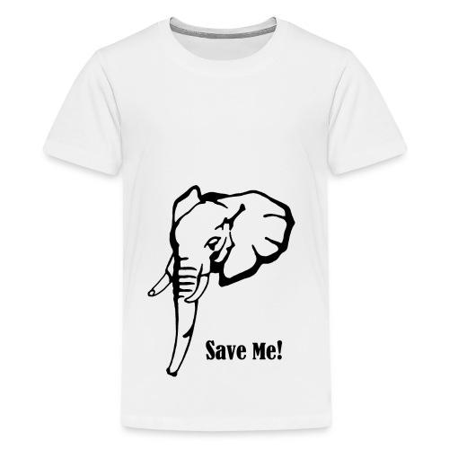Save Me! - Teenager Premium T-Shirt