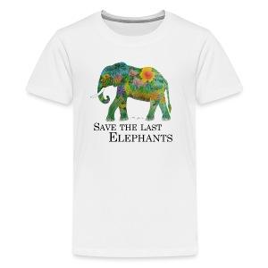 Save The Last Elephants - Teenager Premium T-Shirt