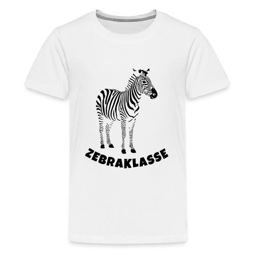 Zebraklasse Zebra Klasse - Teenager Premium T-Shirt