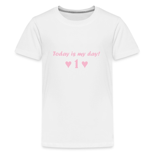 Birthday girl rosa - Teenager Premium T-Shirt