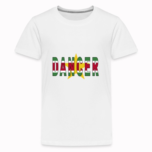 SURINAMESE DANCER - Teenage Premium T-Shirt
