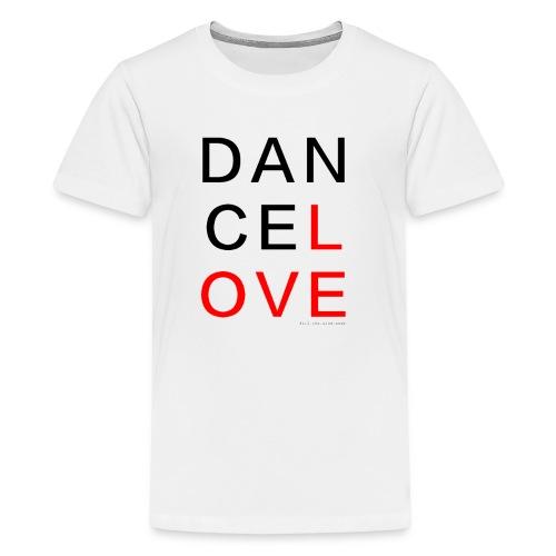 dancelove - Teenager Premium T-Shirt