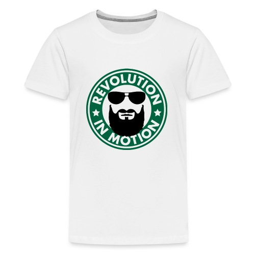 Revolution In Motion - Teenager Premium T-Shirt