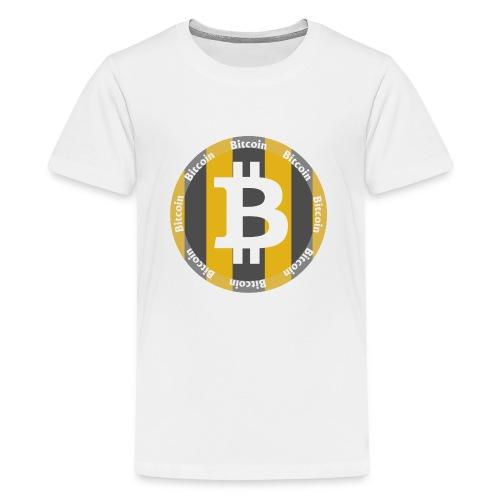 BitCoin | Dein Statement zur Kryptobewegung - Teenager Premium T-Shirt