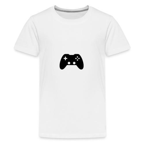 controllertom schwarz - Teenager Premium T-Shirt
