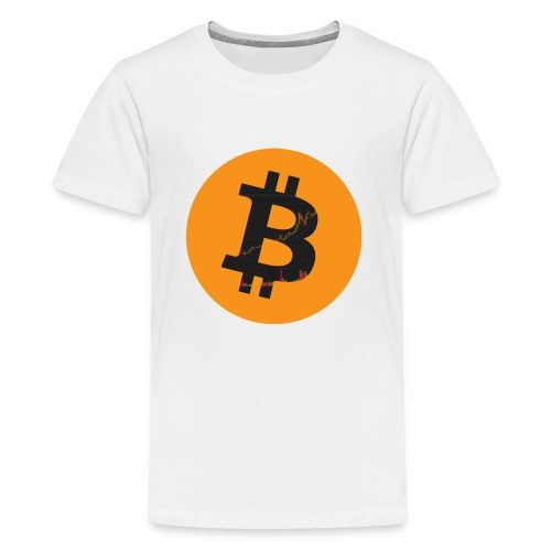 Bitcoin Logo - Teenager Premium T-Shirt