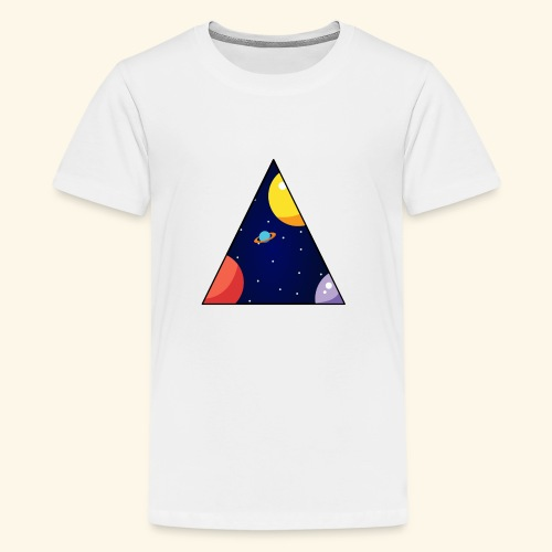 View From Space - Teenage Premium T-Shirt