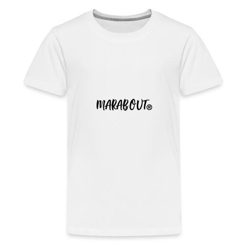 MARABOUT® - Wij helpen, Gambia ontwikkelt - Teenager Premium T-shirt