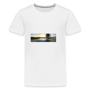 Sunset photo - Teenage Premium T-Shirt
