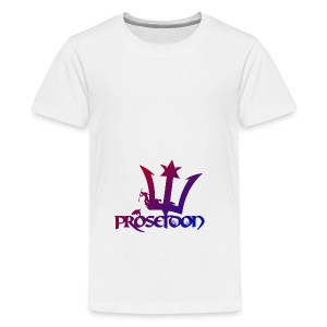 Proseidon Logo Original Colours - Teenager Premium T-Shirt