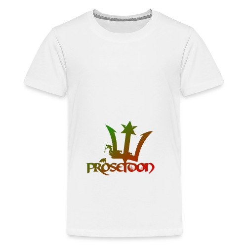 Proseidon Official Logo Rasta - Teenager Premium T-Shirt