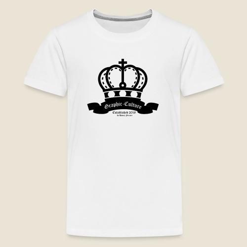 Graphic-Culture Krone - Teenager Premium T-Shirt