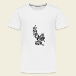 Freedom-Adler - Teenager Premium T-Shirt