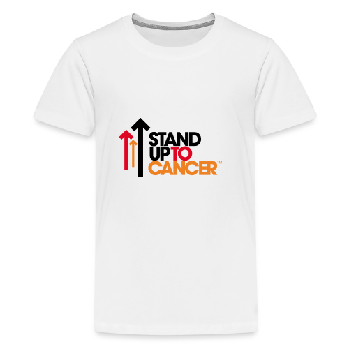 stand up to cancer logo - Teenage Premium T-Shirt