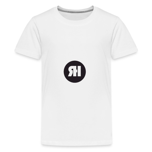 RH logo - Teenage Premium T-Shirt