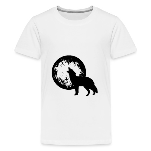 howling 160038 1280 - Teenager Premium T-Shirt