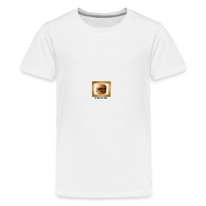 burger bun. - Teenage Premium T-Shirt