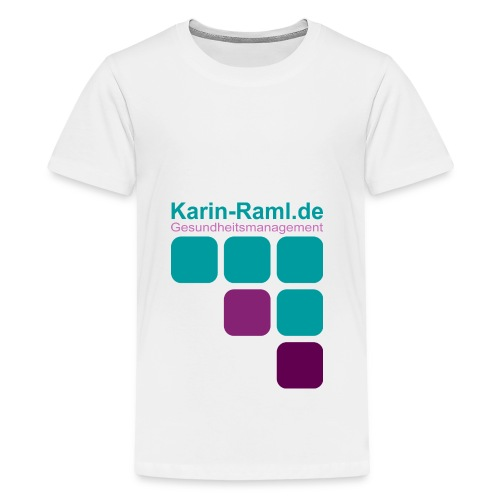 Karin-Raml Gesundheitsmanagement - Teenager Premium T-Shirt