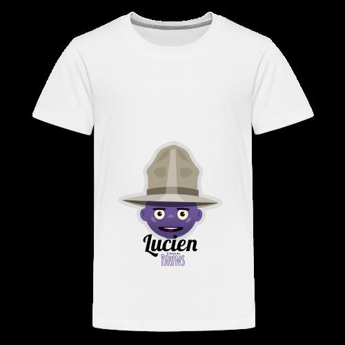 Lucien (Le monde des Pawns) - T-shirt Premium Ado