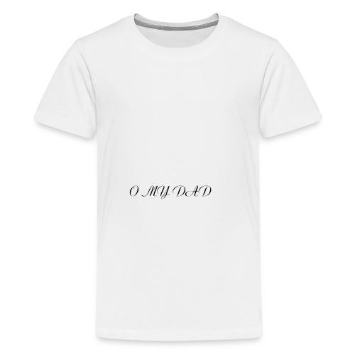 omydad f agnes 2kx2k - T-shirt Premium Ado