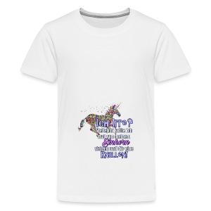 einhorn1 - Teenager Premium T-Shirt