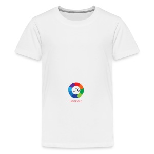 New LFG Tekkers Logo - Teenage Premium T-Shirt