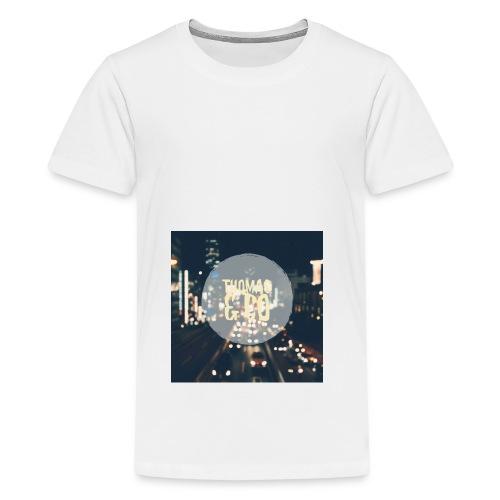 Thomas & Co - Premium T-skjorte for tenåringer