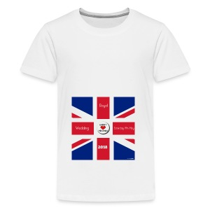 Royal Wedding 2018 - Teenage Premium T-Shirt