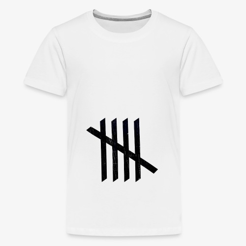 Nice logo - Teenager premium T-shirt